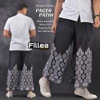 fillea Pager patih sarung celana batik pria baju ibadah modern murah
