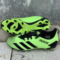 Sepatu bola adidas original Predator 20.4 FxG stabilo black new 2020