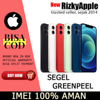 (DUAL SIM) iPhone 12 256GB Blue Red 128GB 64GB (not pro max / mini)