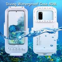 Puluz Diving Waterproof Case 45 Meter Underwater Samsung S20