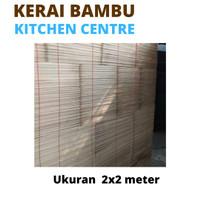 Kerai Bambu wide Tirai kerai bambu gorden bambu 2x2 Meter