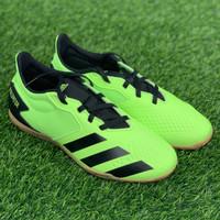 Sepatu futsal adidas original Predator 20.4 in Sala stabilo black 2020