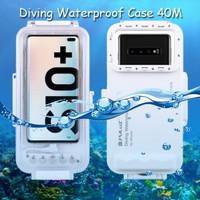 Puluz Diving Waterproof Case 45 Meter Underwater Samsung S10 Plus +