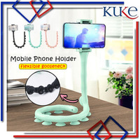 KUKE Flexible Holder Cute Worm Lazy Mobile Cell Phone Holder / Lazypod