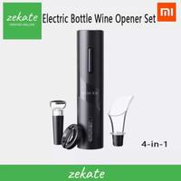 Xiaomi Circle Joy Black Samurai 4 In 1 Electric Bottle Wine Opener Set