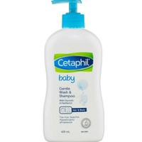 Cetaphil Gentle Baby wash and shampoo 400 ml