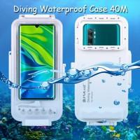Puluz Diving Waterproof Case 45 M Underwater Xiaomi Mi Note 10, 10 Pro