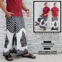fillea Gunungan iput sarung celana batik pria baju ibadah modern murah