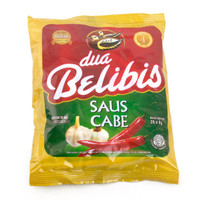 DUA BELIBIS Saus Cabe 20 Saset Kecil 2 BELIBIS Chili Sauce Mini Sachet