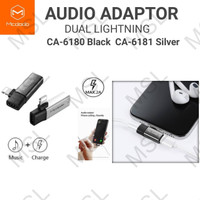 Mcdodo Adapter Audio Konverter Headset iPhone Lightning CA-618