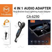 Mcdodo Adapter Audio Konverter Headset iPhone Lightning CA-6290