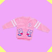 Baju Sweater Rajut Cardigan Atasan Anak Perempuan Import Real Pic No20