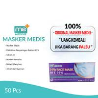 Masker Medical Medivie 3-Ply Earloop Disposable Face Mask BFE 95%