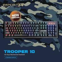 Imperion Trooper 10 Keyboard Gaming Mechanical RGB