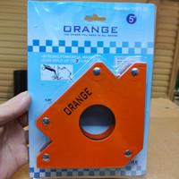 Siku magnet las 5 in Magnetic welding holder 75 lbs Penahan las arrow