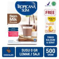 Tropicana Slim Non Fat Skim Milk Chocolate FREE Cookies (5 Sch)