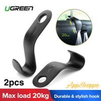 Ugreen Car Hook Back Seat Holder GANTUNGAN SANDARAN KEPALA MOBIL 2pcs