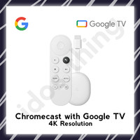 Google Chromecast / Chrome Cast 4 with Google TV - Unit Only