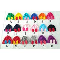 Turban Bayi / Anak Pita (Big Bow) Warna (Untuk Usia 0-2 tahun)