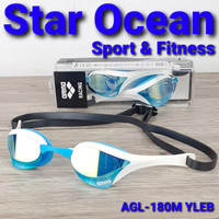 kacamata renang ARENA COBRA ULTRA MIRROR AGL-180M YLEB MADE IN JAPAN