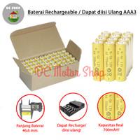 Baterai Rechargeable AA A2 Ni-CD 700mAh 1.2V Batre Battery Isi Ulang