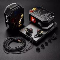 Earphone CK8 Headset Handsfree Qkz KZ Ck8 Hi Ress Dual Driver 3D S - Case BOX KZ