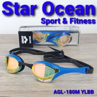 kacamata renang ARENA COBRA ULTRA MIRROR AGL-180M YLBB MADE IN JAPAN