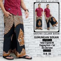fillea Gunungansogan sarung celana batik pria baju ibadah modern murah