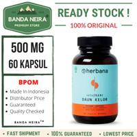 Herbana Daun Kelor 60 Kapsul 500 Mg