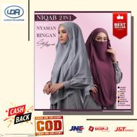 Hijab Jilbab Kerudung Instan Khimar Cadar Terbaru Siti Aisyah Sy