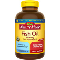 Nature Made Fish Oil 1200 mg (150 softgels)