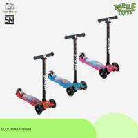 Kickboard Scooter Otoped - Skuter Anak / Otoped Anak Roda 3 Menyala - CEWEK
