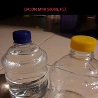BOTOL MINUM PLASTIK GALON MINI 500ML PET HARGA PABRIK GROSIR MURAH