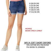 Celana Branded Wanita - WALLFLOWER 14 SOFT SHORT OXFORD