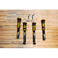 BMW E39 Yellow Speed Racing Dynamic Pro Sport Coilover
