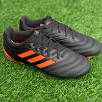 Sepatu bola adidas original Copa 20.3 FG black orange new 2020