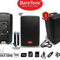 baretone MAX 10HE speaker meeting wireless original kualitas terbaik