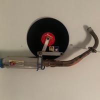 Knalpot CLD Racing Modern Vespa Matic Fullsystem Long Circle