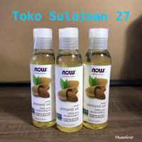 Now Foods Solution Sweet Almond Oil 118ml 100% Pure Moisturizing Oil