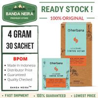 Herbana Jinten Hitam Powder 30 Sachet 4 Gram