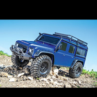 rc 4x4 offroad adventure traxxas trx4 defender nego