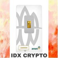 10 Gram Emas Aneka Tambang/Certieye/Antam ~ Idx Crypto