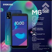 EVERCOSS M6A 4/32GB 100% ORIGINAL GARANSI RESMI 1 TAHUN