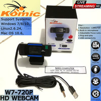 Webcam Komic HD 720P Resolution camera Live streaming