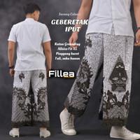 fillea Geberetakiput sarung celana batik pria baju ibadah modern murah