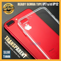Case iPhone 11 Pro Max X XS XR 7 8 Plus Soft Casing Bening Transparan