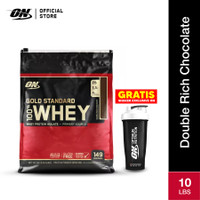 Optimum Nutrition 100% Gold Standard Whey 10Lbs Deouble Rich Choco