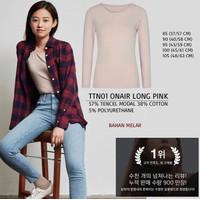 Baju Branded Wanita - TOP TEN 01 ONAIR LONG PINK