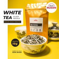 Premium White Tea Silver Needle/Teh Putih Kualitas Ekspor 10g