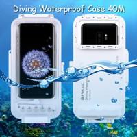 Puluz Diving Waterproof Case 45 Meter Underwater Samsung S9 Plus +